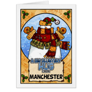 A Big Blustery Hug from Manchester Card