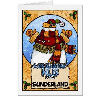 A Big Blustery Hug from Sunderland Card