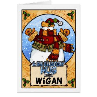 A Big Blustery Hug from Wigan Card