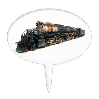 A Big Boy Steam Locomotive Cake Topper