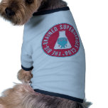 A Big-Brained Superhero Precipitates Badge Doggie Tee