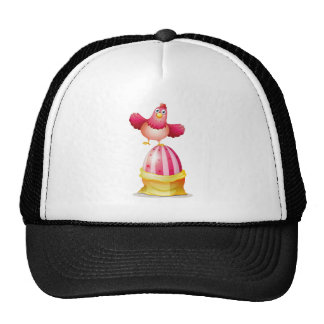 A big Easter egg and a hen Trucker Hat