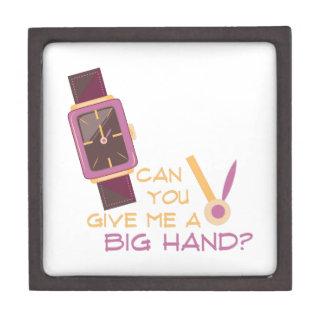 A Big Hand Gift Box