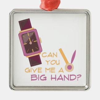 A Big Hand Metal Ornament