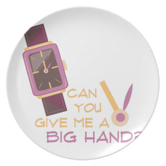 A Big Hand Plate