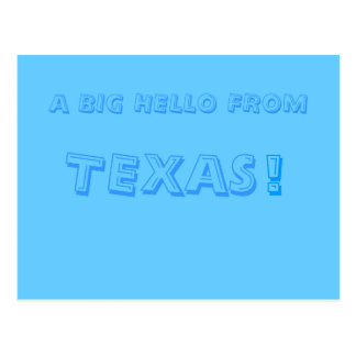 A BIG HELLO FROM, TEXAS, ! POST CARDS