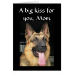 A BIG KISS ON MOTHER'S DAY CARDS