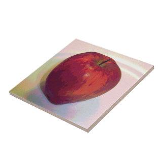 A Big Red Apple Tile