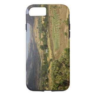 A big scenic view of a big rock mountain iPhone 7 case