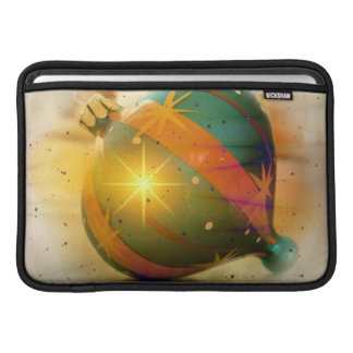 A Big Shiny Christmas Ornament MacBook Sleeves