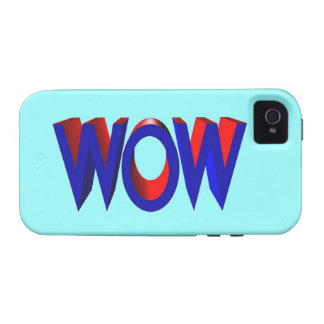 A Big Wow Text Vibe iPhone 4 Cover