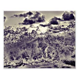 A Bigger Splash Photographic Print