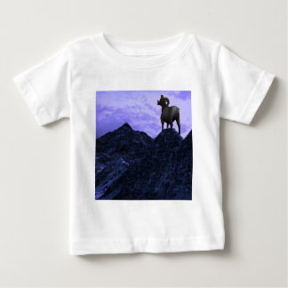 A Bighorn Sheep looks to the next mountain Baby T-Shirt