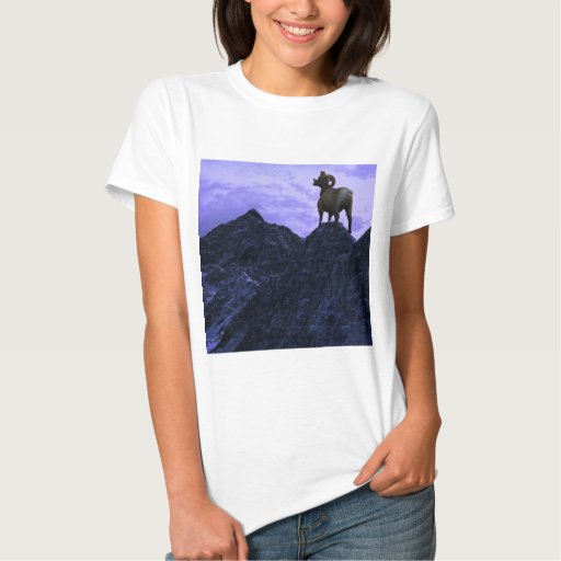 A Bighorn Sheep looks to the next mountain Shirt