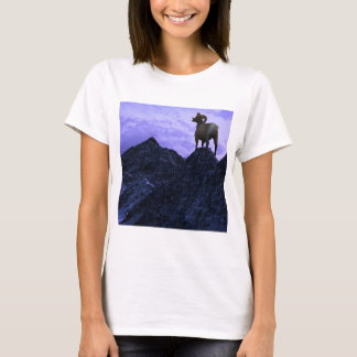 A Bighorn Sheep looks to the next mountain T-Shirt