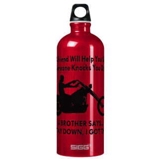 A Biker Brother Says Stay Down I Got This Water Bottle