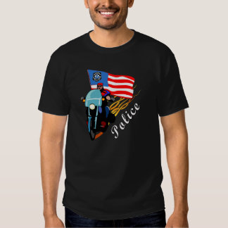 A Biker Cops T Shirts