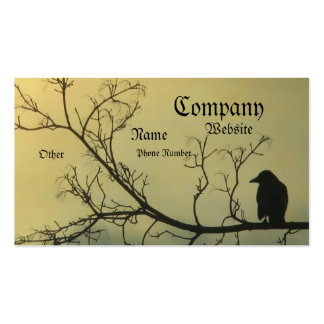 A Bird Double-Sided Standard Business Cards (Pack Of 100)