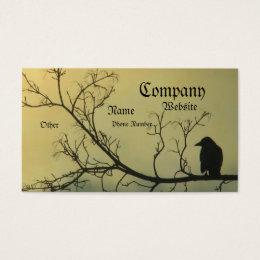 A Bird Business Card