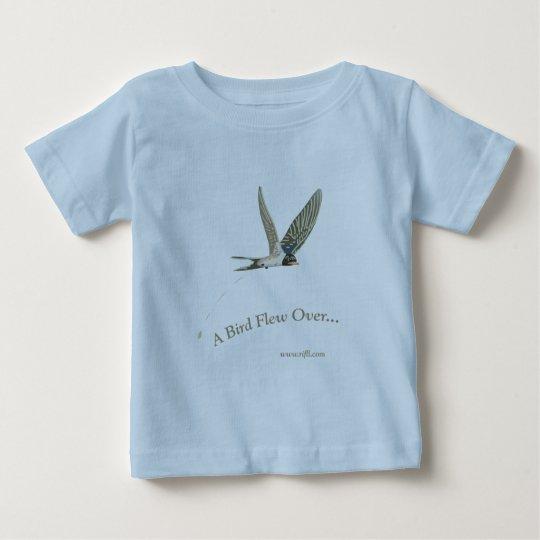 A-Bird-Flew-Over Baby T-Shirt