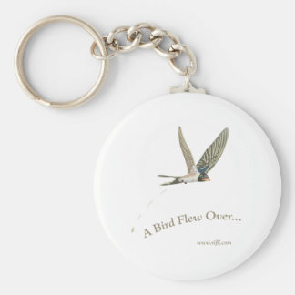 A-Bird-Flew-Over Keychain