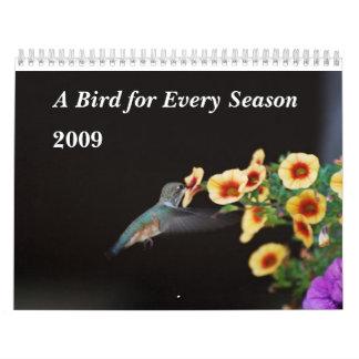 A Bird for Every Season Calendars