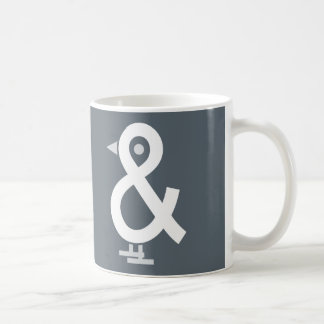 """""""A Bird In The And"""" Puzzle Mug"""