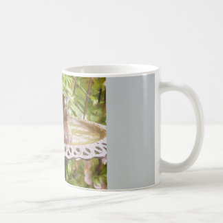 A Bird In The Bath Mug