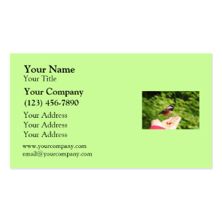 A Bird in the Hand Business Card