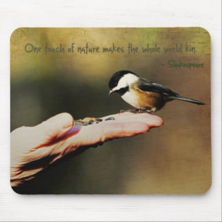 A Bird in the Hand Mouse Pad
