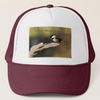 A Bird in the Hand Trucker Hat