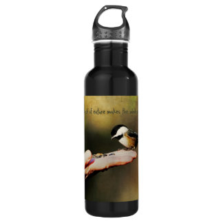 A Bird in the Hand Water Bottle