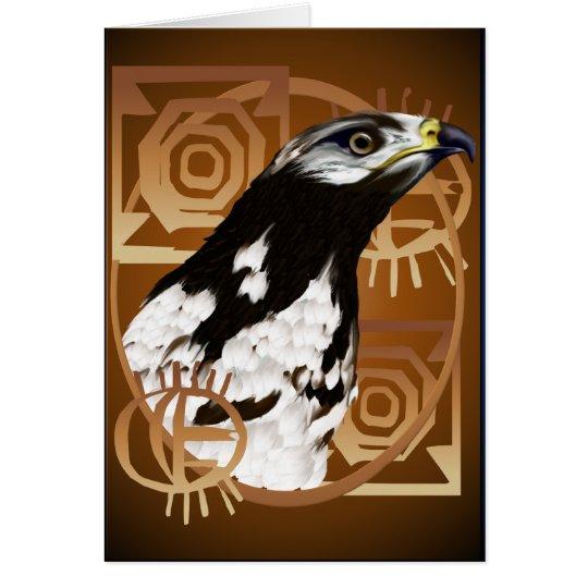 A Bird Of The Serengeti Card