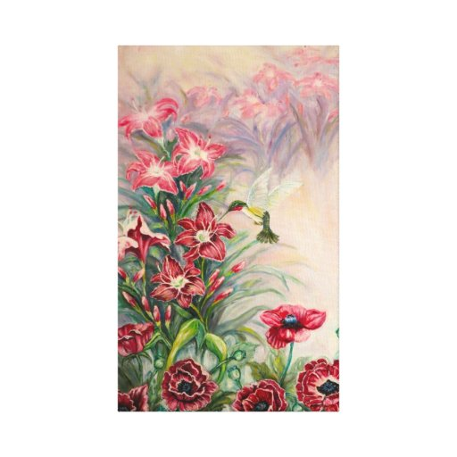 A Bird's Serenity Canvas Print