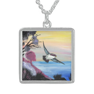 A Birds View Sterling Silver Necklace