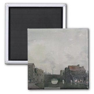 A Birmingham Canal 2 Inch Square Magnet