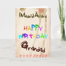 birthday card for grandad