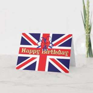 British army birthday cards zazzle a birthday card with a union jack m4hsunfo