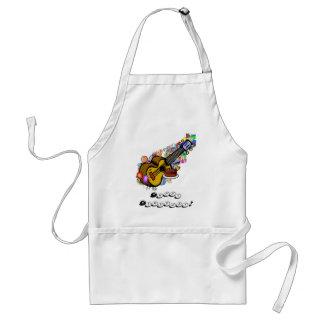 A birthday ukulele apron! adult apron