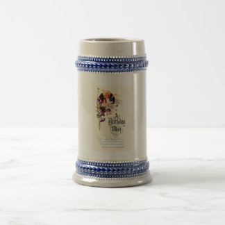 A Birthday Wish Beer Stein