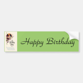 A Birthday Wish Bumper Sticker