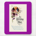 A Birthday Wish Mouse Pad