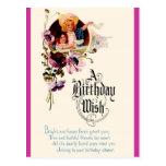 A Birthday Wish Postcard