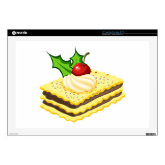 A biscuit for christmas decal for laptop