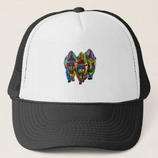 A Bison Trio Trucker Hat