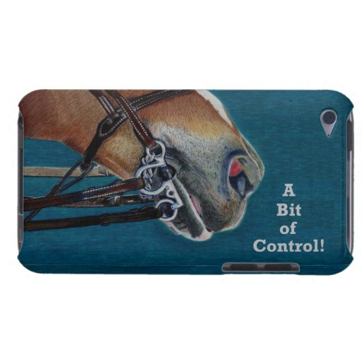 A Bit of Control! Horse Bridle iPod Case Barely There iPod Cover