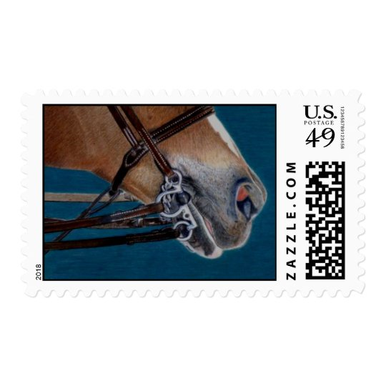 A Bit of Control Horse Postage