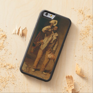 A Bit of War History by T.W. Wood Carved® Maple iPhone 6 Bumper Case