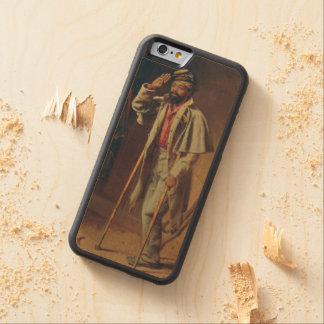 A Bit of War History: The Veteran by T.W. Wood Carved® Maple iPhone 6 Bumper