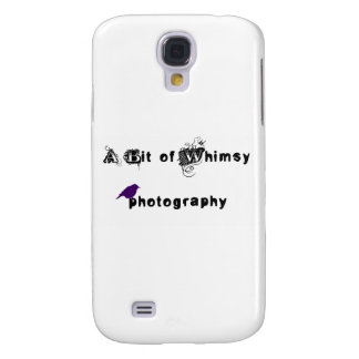 A Bit of Whimsy Photography Logo Samsung Galaxy S4 Cover